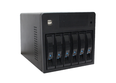 6 Bays NAS Storage Server Chassis